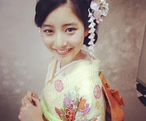 japanese, kimono, and make up image