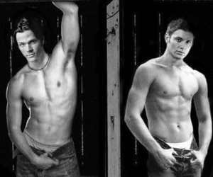 ackles, gorgeous, and jared image