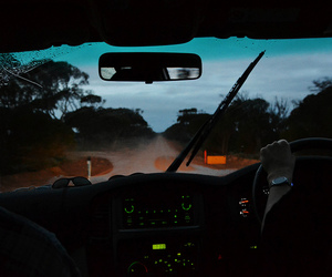 australia, driving, and blue image