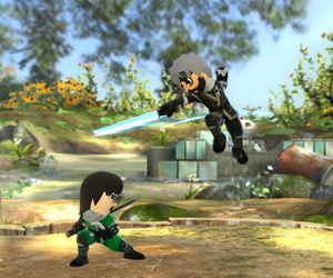 supersmashbros, mii fighters, and swordfighters image