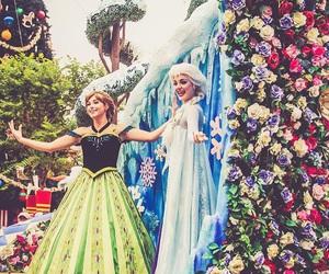anna, sisters, and Walt Disney World image
