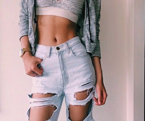 abs, street style, and body image
