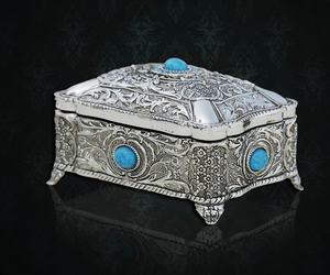 chest box, small boxes, and cute jewelry boxes image
