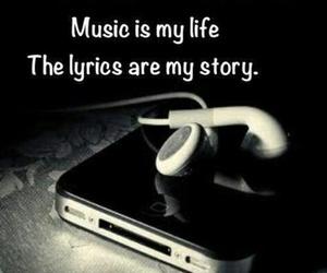 music, life, and Lyrics image