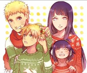 naruto, family, and hinata image
