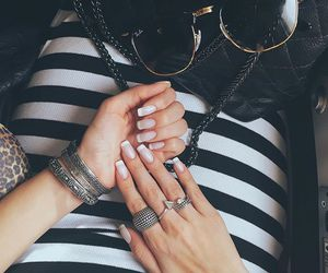 fashion, nails, and pretty image