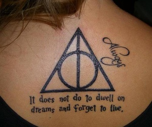 harry potter, always, and tattoo image