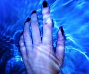 blue, water, and grunge image