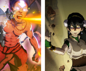art, avatar, and toph image