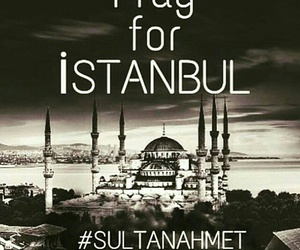 istanbul and pray for istanbul image