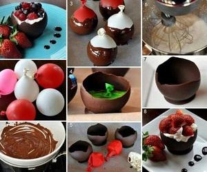 chocolate, diy, and food image
