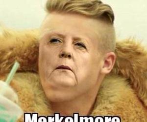 funny, macklemore, and merkel image