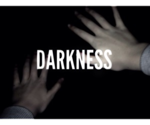 Darkness, black, and lost image