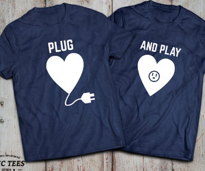 etsy, plug and play, and matching shirts image