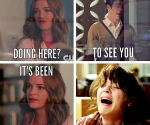 danielle panabaker, ship, and the flash image