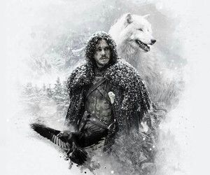ghost and game of thrones image