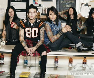 black veil brides, bvb, and andy biersack image