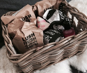 collection, lush, and beauty image