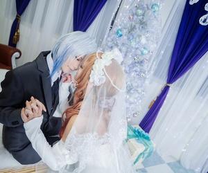 anime, cosplay, and couple image
