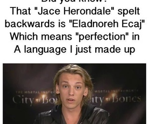 jace herondale, the mortal instruments, and perfection image
