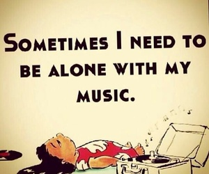 music, alone, and lilo image