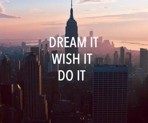 Dream, wish, and new york image