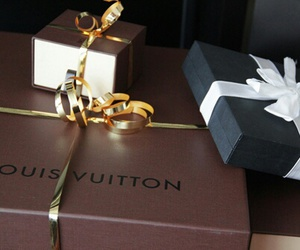 Louis Vuitton, gift, and luxury image