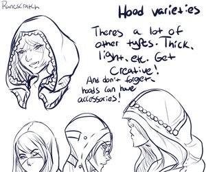 art, examples, and hood image