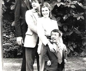 carrie fisher, mark hamill, and kenny barker image