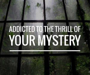 quote, addicted, and mystery image
