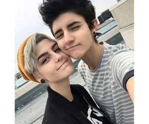 couple and tomboy image