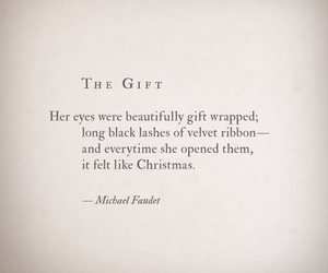 quote, christmas, and eyes image