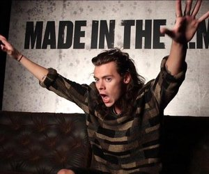 Harry Styles, one direction, and made in the am image