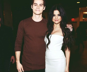 selena gomez, dylan o'brien, and dylena image