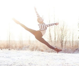 winter, dance, and dancer image