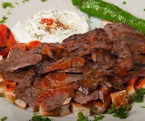 food, kebab, and turk image