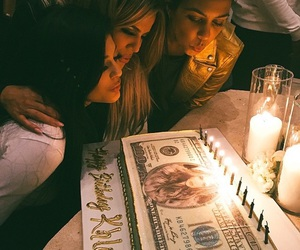 kylie jenner, khloe kardashian, and kourtney kardashian image
