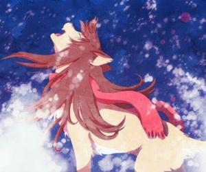 wolf children, yuki, and snow image