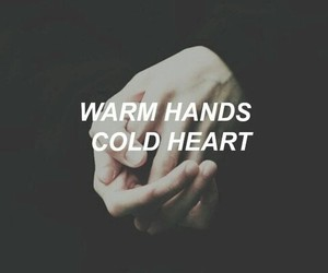 hands, grunge, and quote image
