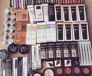 make up, fashion, and lipstick image