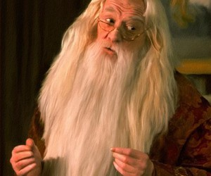 dumbledore, harry potter, and rowling image