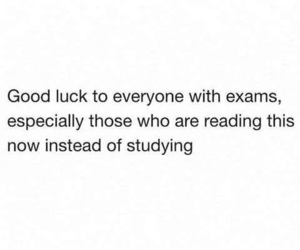 exams and good luck image