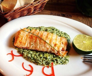 fish, healthy, and hungry image