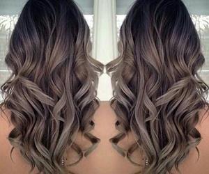 beauty, grey hair, and hair image