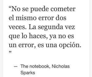 love, frases, and nicholas sparks image