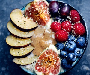 fruit and breakfast image