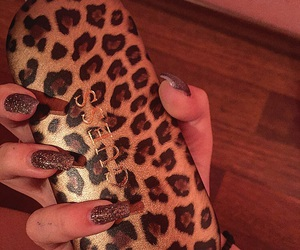 glasess, nails, and guess image