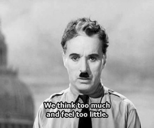 quotes, charlie chaplin, and black and white image
