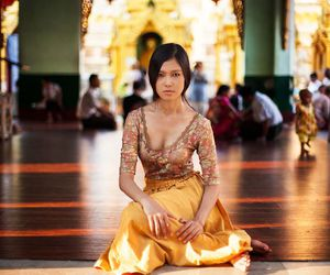 asian girl, elegance, and indian image