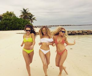 perrie edwards, little mix, and beach image